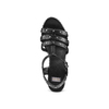Sandali con borchie bata, nero, 761-6235 - 17