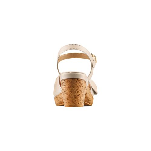 Sandali con fiocco bata-touch-me, beige, 664-2302 - 15