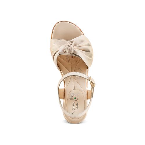 Sandali con fiocco bata-touch-me, beige, 664-2302 - 17