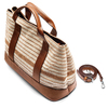 Shopper in canvas bata, beige, 969-1307 - 17