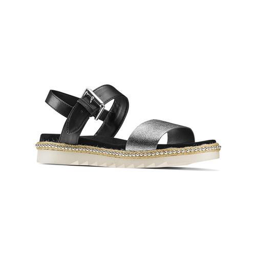 Sandali bassi bata, nero, 561-1361 - 13