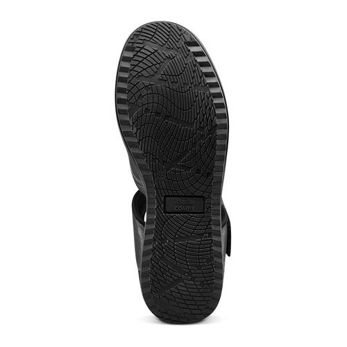 Sandali da uomo bata-comfit, nero, 864-6126 - 19