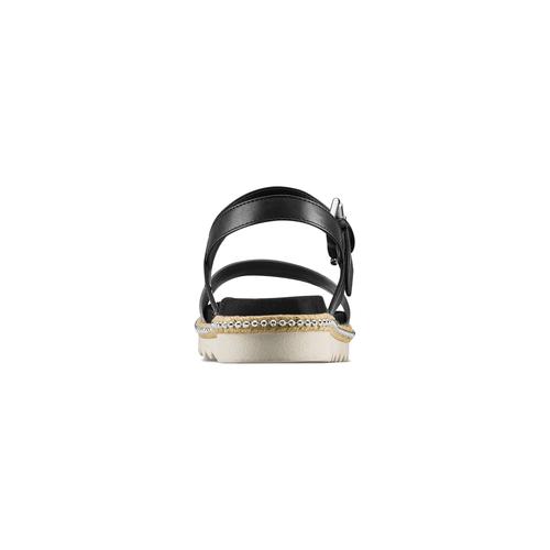 Sandali bassi bata, nero, 561-1361 - 15