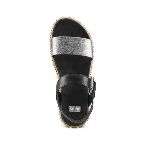 Sandali bassi bata, nero, 561-1361 - 17