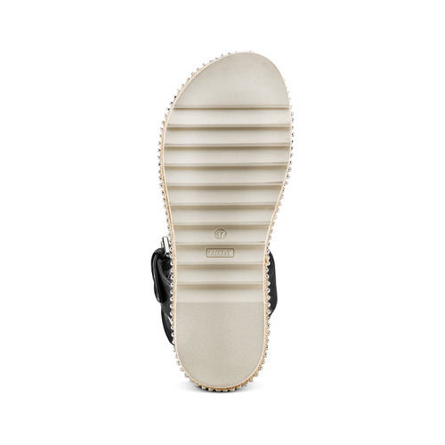 Sandali bassi bata, nero, 561-1361 - 19