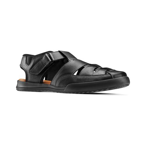 Sandali da uomo bata-comfit, nero, 864-6126 - 13