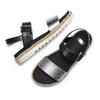Sandali bassi bata, nero, 561-1361 - 26
