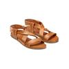 Sandali in pelle bata, marrone, 564-3443 - 16