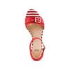 Sandali da donna insolia, rosso, 569-5277 - 17