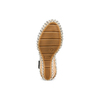 Sandali con zeppa  bata, nero, 769-6236 - 19