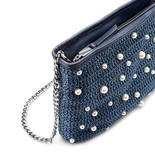 Tracolla elegante da donna bata, blu, 969-9279 - 15