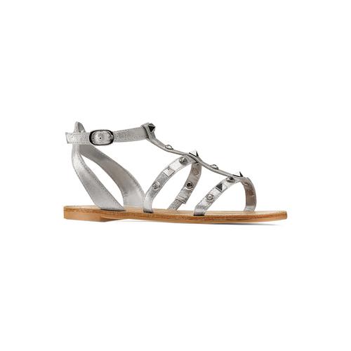 Sandali da bambina mini-b, grigio, 369-2209 - 13
