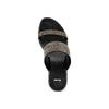 Ciabatte con zeppa bata, nero, 771-6111 - 17