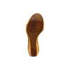 Sandali con zeppa bata, marrone, 764-3435 - 19