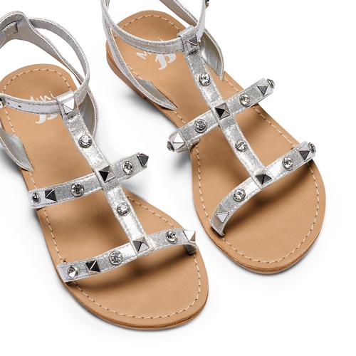 Sandali da bambina mini-b, grigio, 369-2209 - 26