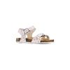 Sandali con stampa floreale mini-b, bianco, 261-1212 - 13
