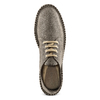 Stringate in suede bata, grigio, 853-2213 - 17