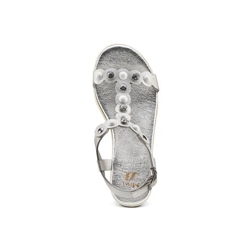 Sandali Platform mini-b, argento, 361-1207 - 17