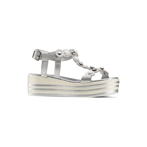 Sandali Platform mini-b, argento, 361-1207 - 13