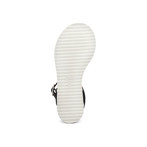 Sandali con applicazioni mini-b, nero, 361-6236 - 19