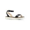 Sandali con applicazioni mini-b, nero, 361-6236 - 13