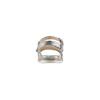 Sandali con fiocco mini-b, argento, 361-1223 - 15