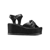 Sandali in pelle bata, nero, 764-6271 - 13