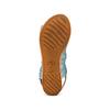 Sandali in pelle bata, blu, 564-9282 - 19