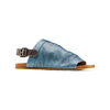 Sandali in pelle bata, blu, 564-9282 - 13