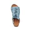 Sandali in pelle bata, blu, 564-9282 - 17