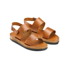 Sandali in pelle bata, marrone, 664-3150 - 16