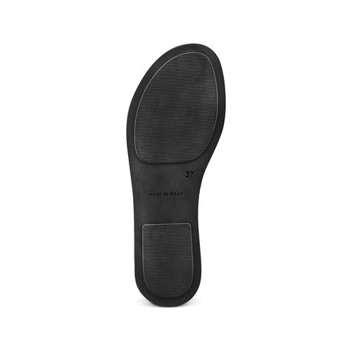 Sandali in pelle bata, marrone, 664-3150 - 19
