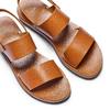 Sandali in pelle bata, marrone, 664-3150 - 26