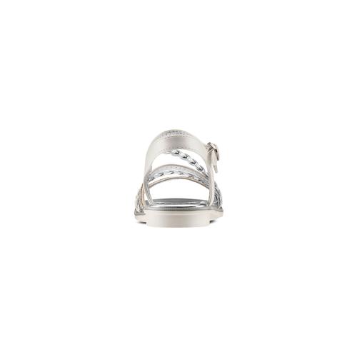 Sandali da bambina mini-b, argento, 361-1197 - 15