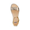 Sandali flati laminati bata, oro, 561-8356 - 17
