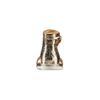 Sandali flati laminati bata, oro, 561-8356 - 15
