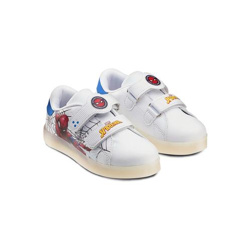 Sneakers con luci spiderman, bianco, 311-1158 - 16