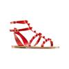 Sandali con doppio cinturino bata, rosso, 561-5542 - 13