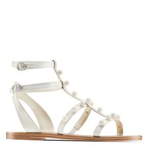 Sandali con doppio cinturino bata, bianco, 561-1542 - 13