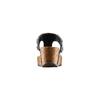 Infradito con zeppa bata, nero, 661-6365 - 15