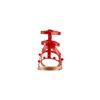 Sandali con doppio cinturino bata, rosso, 561-5542 - 15