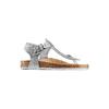 Sandali infradito da bambina mini-b, argento, turchese, 361-1250 - 13