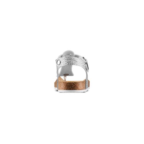 Sandali infradito da bambina mini-b, argento, turchese, 361-1250 - 15