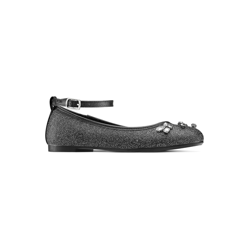 Ballerine con cinturino alla caviglia mini-b, nero, 329-6294 - 13