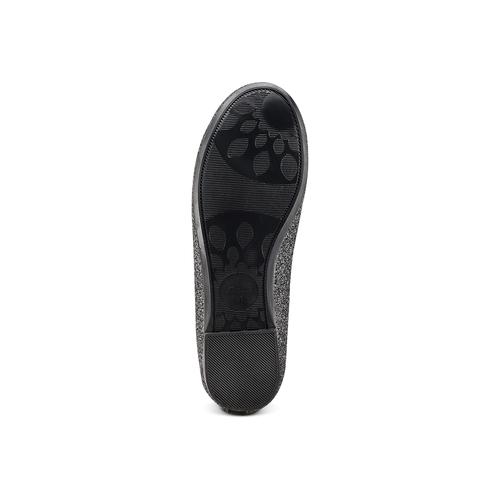 Ballerine con cinturino alla caviglia mini-b, nero, 329-6294 - 19