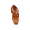 Sandali con zeppa in corda bata, marrone, 764-3117 - 17