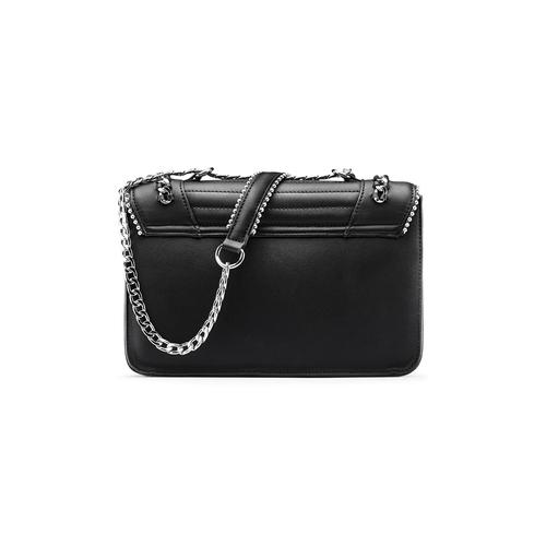 Handbag  bata, nero, 961-6253 - 26