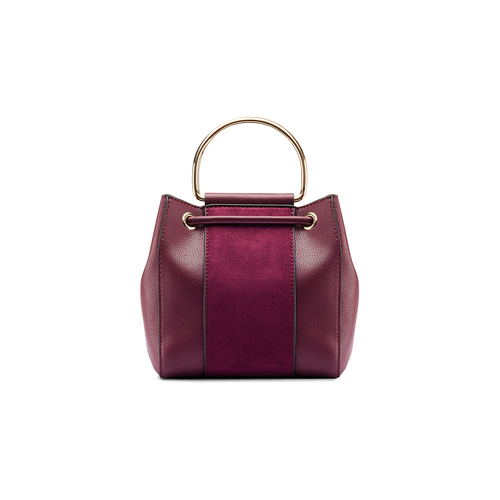 Handbag  bata, rosso, 961-5448 - 26