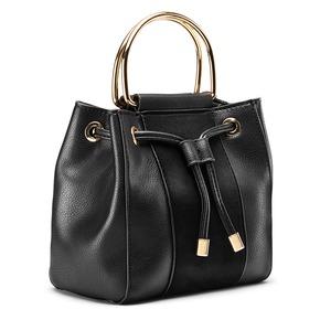 Handbag  bata, nero, 961-6448 - 13