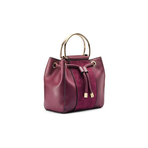 Handbag  bata, rosso, 961-5448 - 13